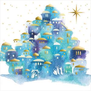 watercolour nativity