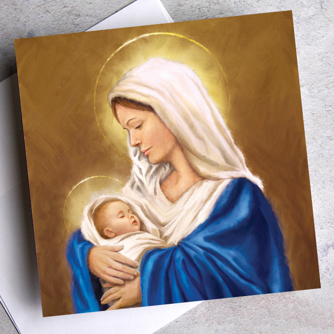 personalise religious cards